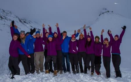 Gjengen som fikk UTEcamp til å bli en suksess! Foto: Roger Bareksten
