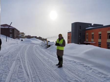 Guida tur i Barentsburg. Foto: Lisa Kvålshaugen Bjærum