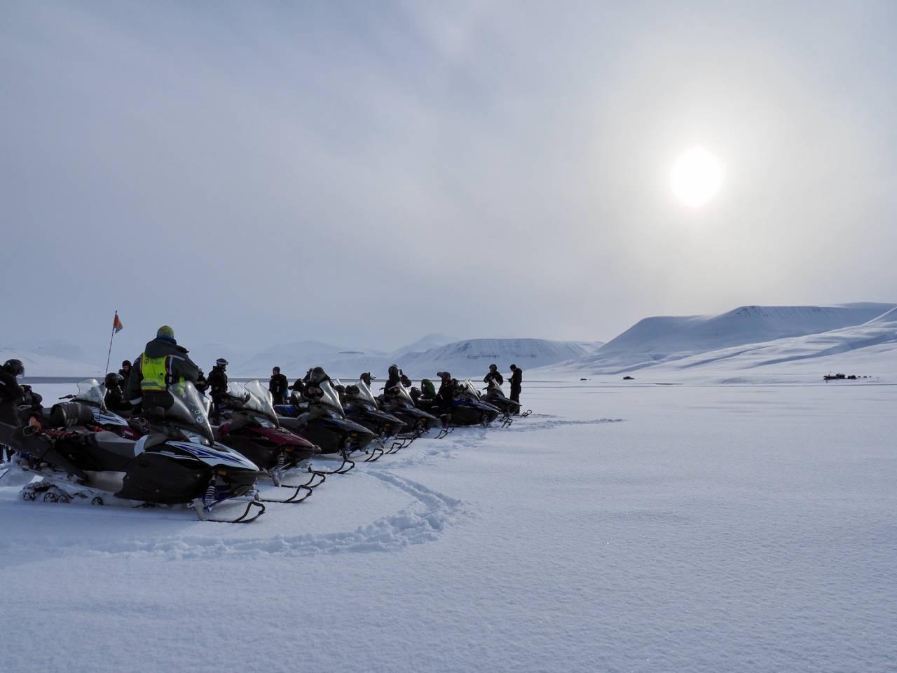 Svalbard snøscooter