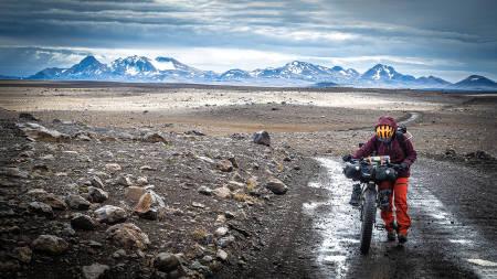 sykkeltur på Island med fatbike