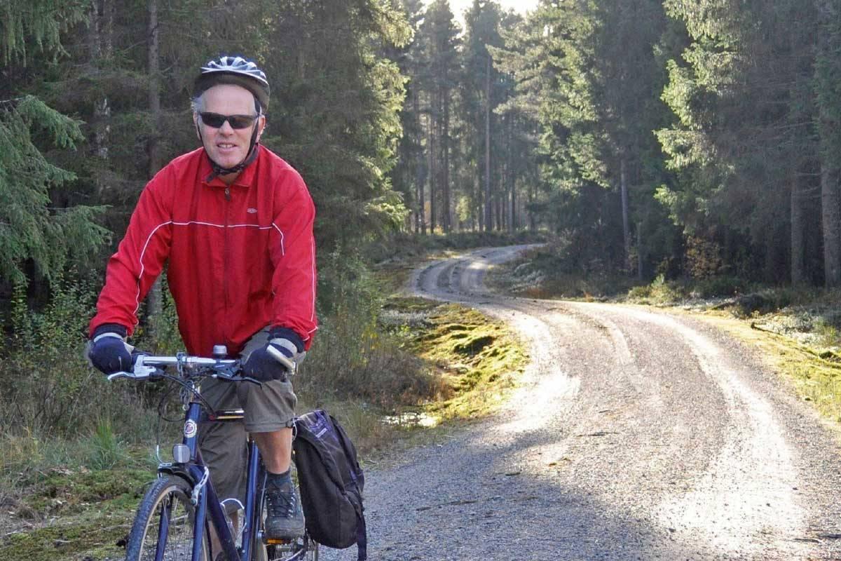 Nelaug–Arendal er en flott sykkelrute som passer de fleste. Ta toget opp til Nelaug og sykle ned igjen til togstasjonen. Foto: Torolf Kroglund