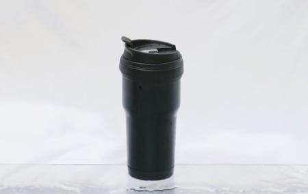 OK for prisen: Biltemas litt mer eksklusive termokopp er en ganske stor kopp med nesten en halvliter volum.