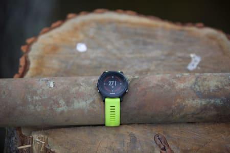 Komplett sportsklokke: Garmin Forerunner 935 er en klokke med en ekstrem mengde funksjoner for treningsglade.<span class='oval'>…</span>