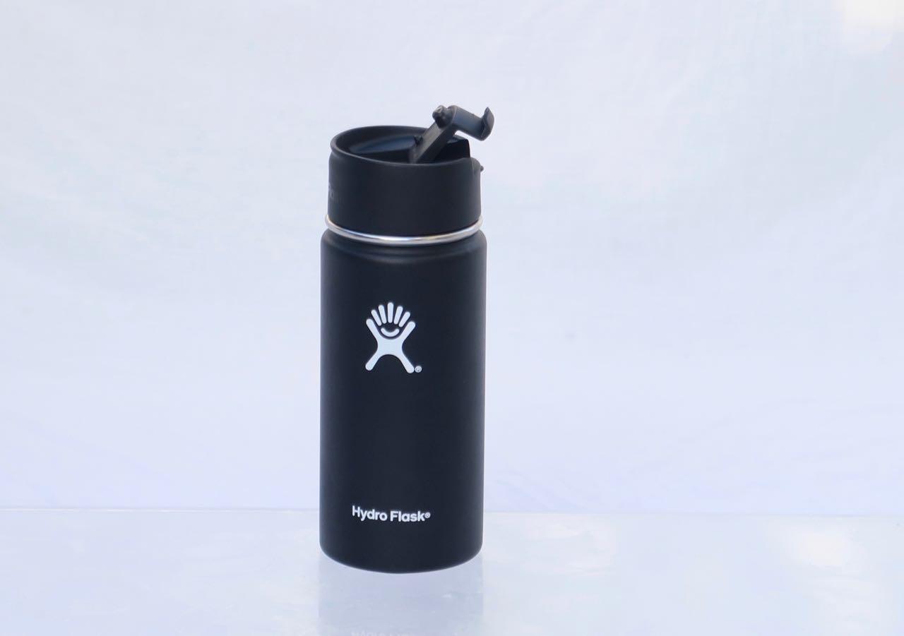 Kort og kompakt: Lav høyde og passe volum gjør Hydro Flask lett å få med seg.
