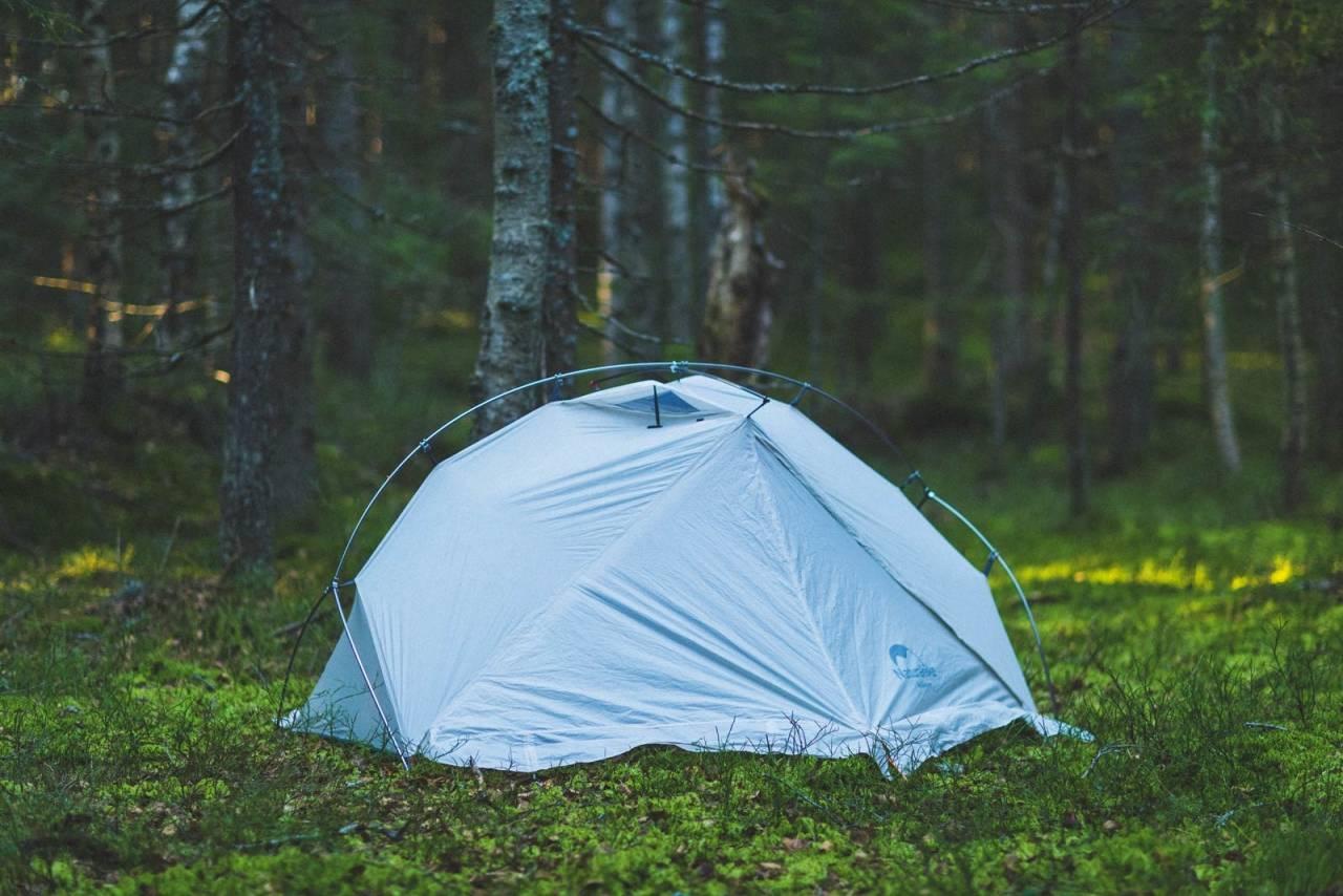 UTFORDREREN: Naturehike Vik er et forholdsvis nytt merke på det norske teltmarkedet. Foto: Kristoffer H. Kippernes