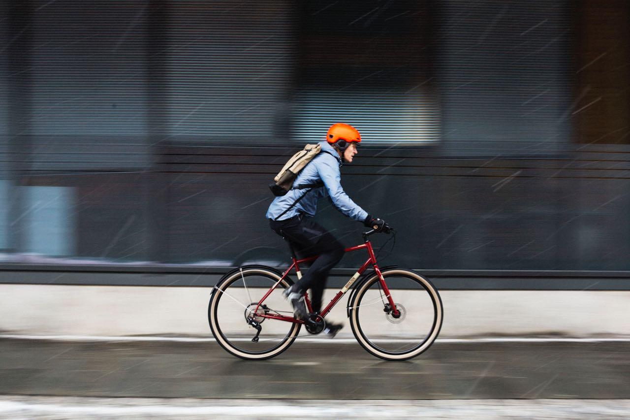 TIL OG FRA: Sykkelen er det mest effektive transportmiddelet i byen. Noen sykler fungerer bedre enn andre til og fra jobb. Alle foto: Kristoffer H. Kippernes