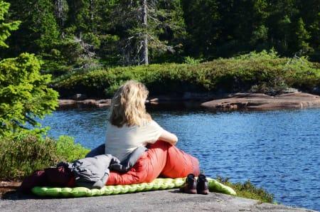 939d4c08 FOR TRE SESONGER: En tresesongs sovepose bør holde deg varm under de  tidlige vårturene,