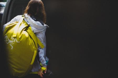 PRAKTISK: Alle bagene i denne testen kan bæres på ryggen når det trengs. Foto: Kristoffer Kippernes
