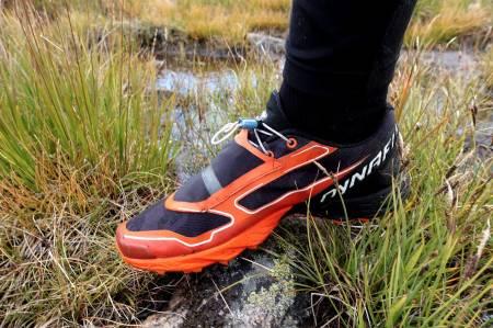TEST AV DYNAFIT FELINE PRO: Denne skoen er spesiallaget for forsering av bratte bakker. Foto: Sandra L. Wangberg