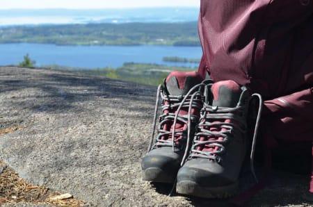 STØDIGE FJELLSKO: Når du kjøper et par fjellsko, er det som regel med ønske om å ha dem en stund. Foto: Sandra L. Wangberg
