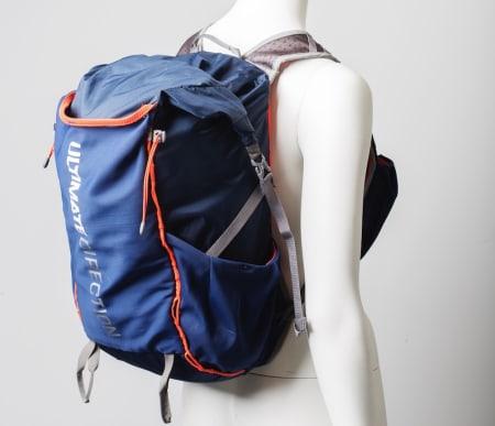 ROMSLIG: Amerikanske Ultimate Direction er spesialister på utstyr til ultraløping, og Fastpack-serien er rettet mot løpere som vil ha med seg mer enn det aller nødvendigste.
