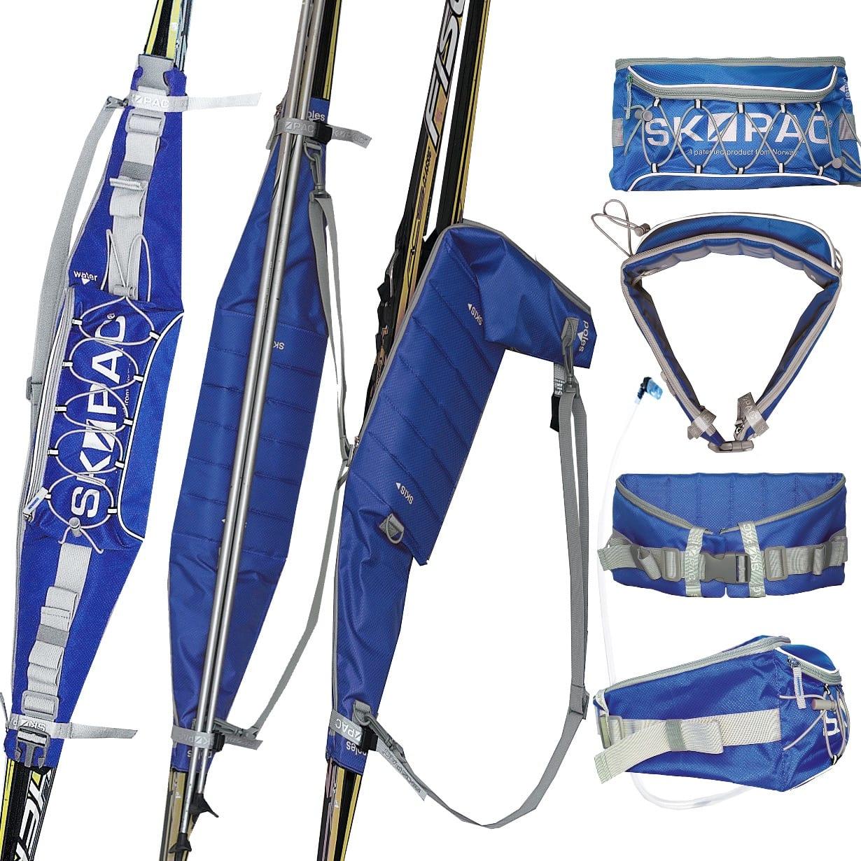 Med Skipac får du fraktet med deg skiene på en enkel måte. Foto. Slkipac.com