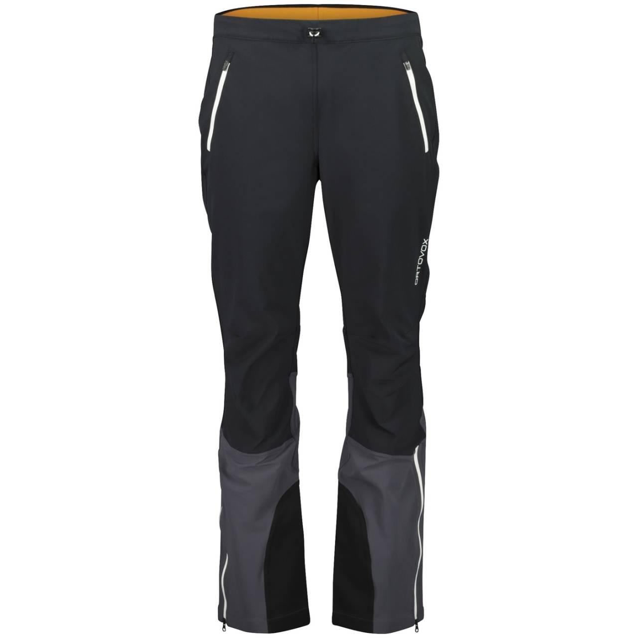 TEST AV SOFTSHELLBUKSER: De 10 buksene vi har hatt til test har alle vært gode å ha på, men med ulike detaljer og funksjoner som gjør at de skiller seg fra hverandre. Her er Ortovox Tofana avbildet.