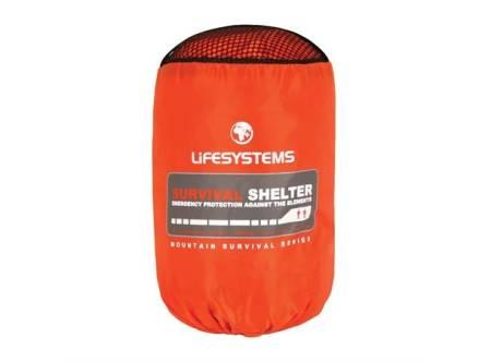 TEST AV VINDSEKK: På langtur har du som regel med et telt, mens en dagstur eller bare en totimerstur kan bli lang om noen blir skadet. En vindsekk kan redde liv. Foto: Helsport