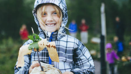 barn barkebåt DNT utemagasinet friluftsliv lek kul tur app android apple