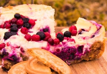 TOPP TUREN: Kake til turen? Den kan like godt lagast ute. Foto: Sigrid Henjum