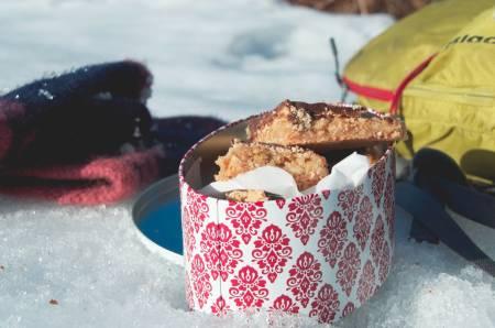 KAKEKOS: Snickerskake er perfekt . Foto: Sigrid Henjum