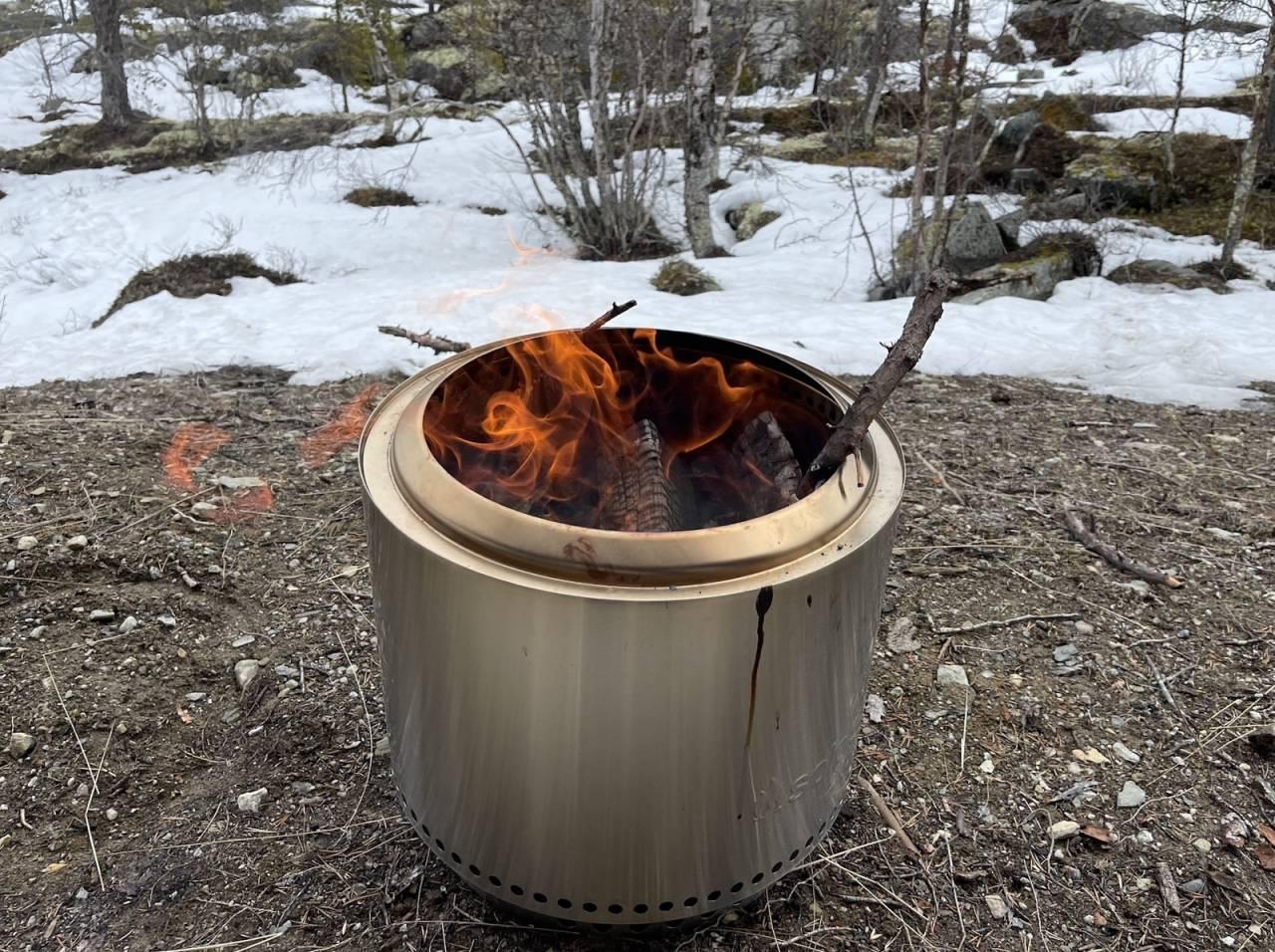 test av bålpanner solo stove ranger