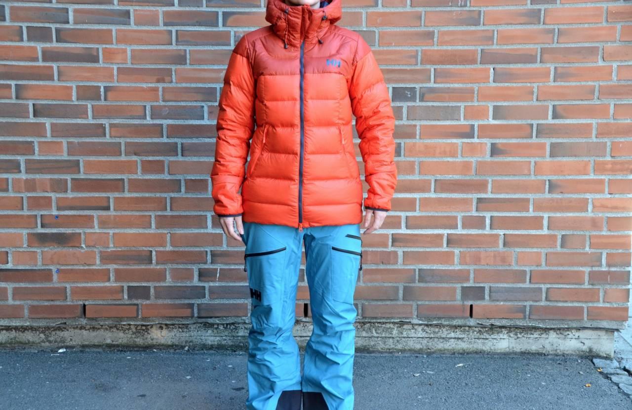 Test av Helly Hansen Vanier Glacier Down jacket W