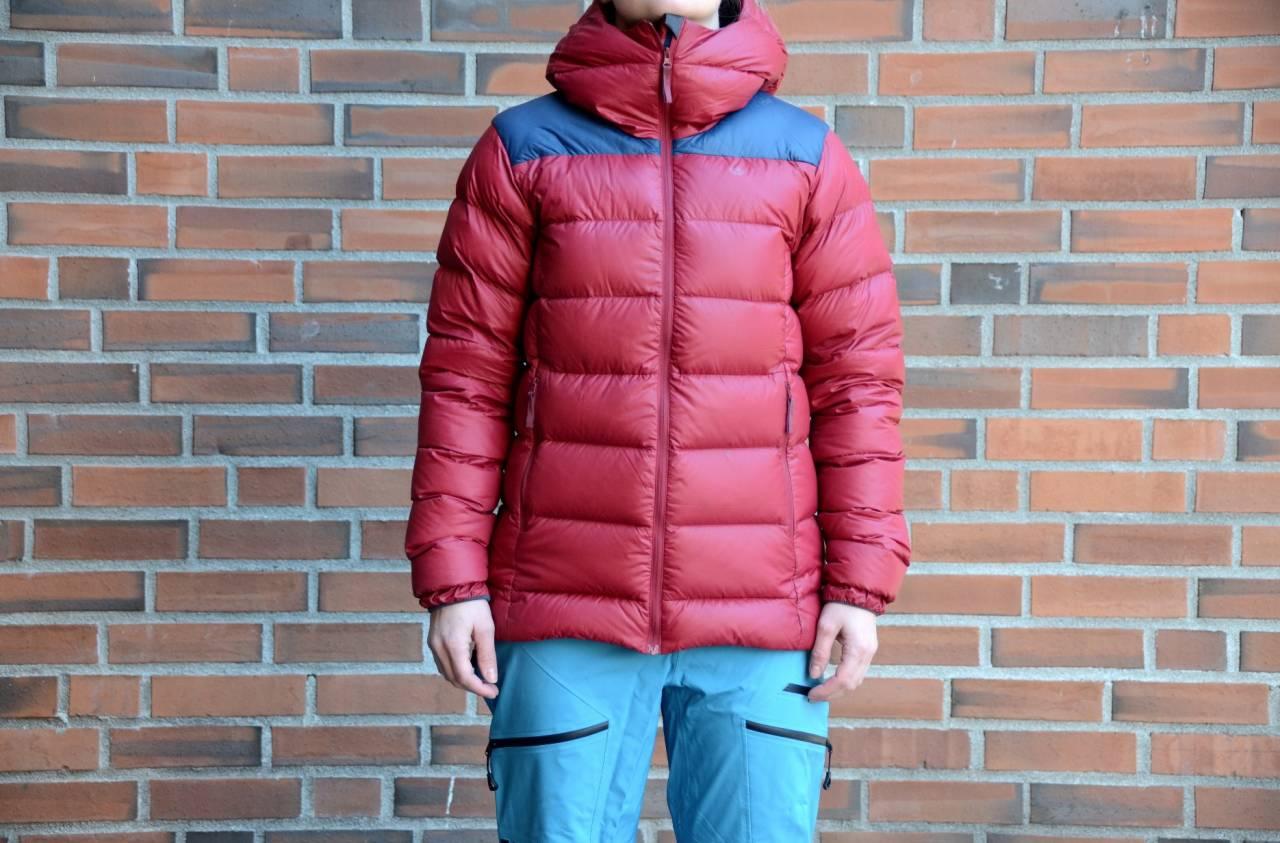 test av Whiteout Down jacket W