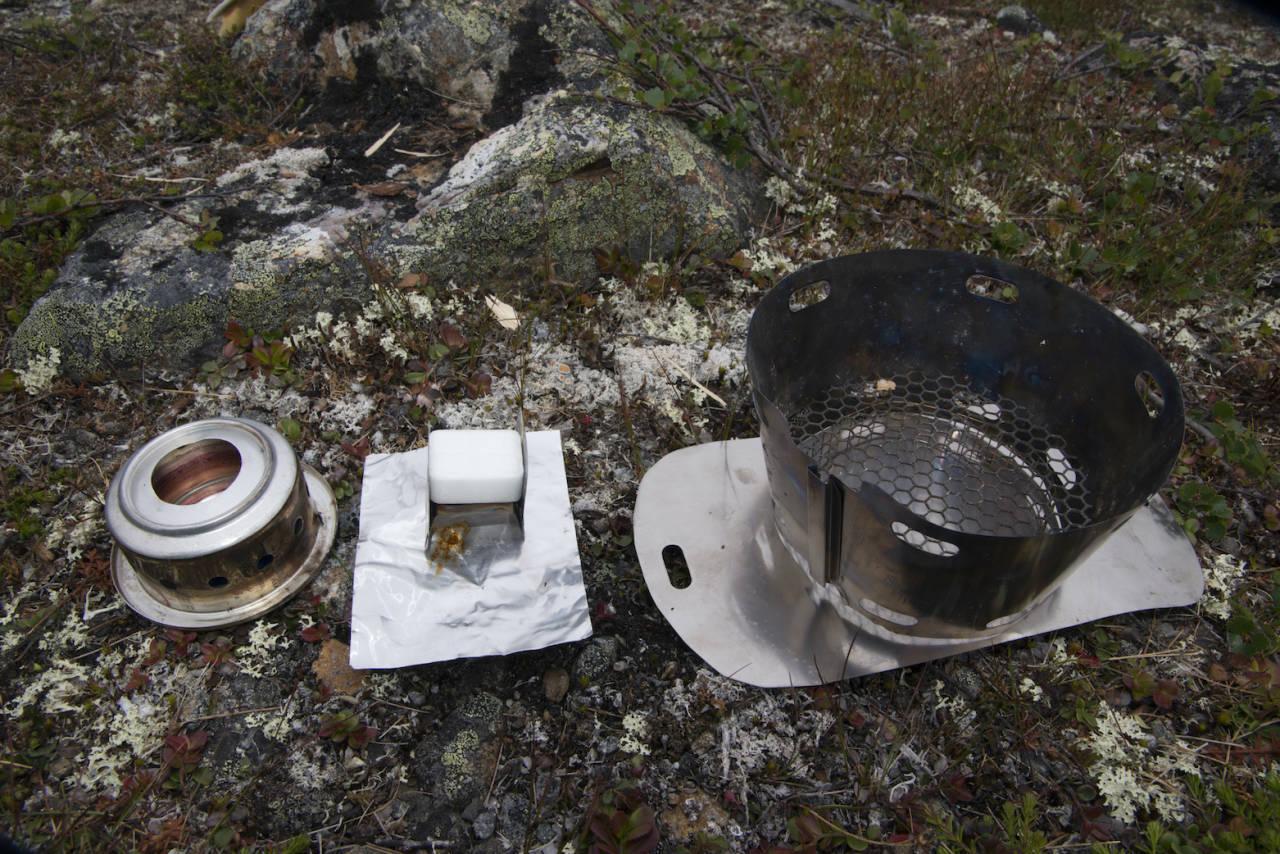 caldere sidewinder lettvekts brenner løsning