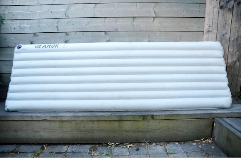 Amok Inflatable Insulated Pad. Foto: Sandra Lappegard Wangberg
