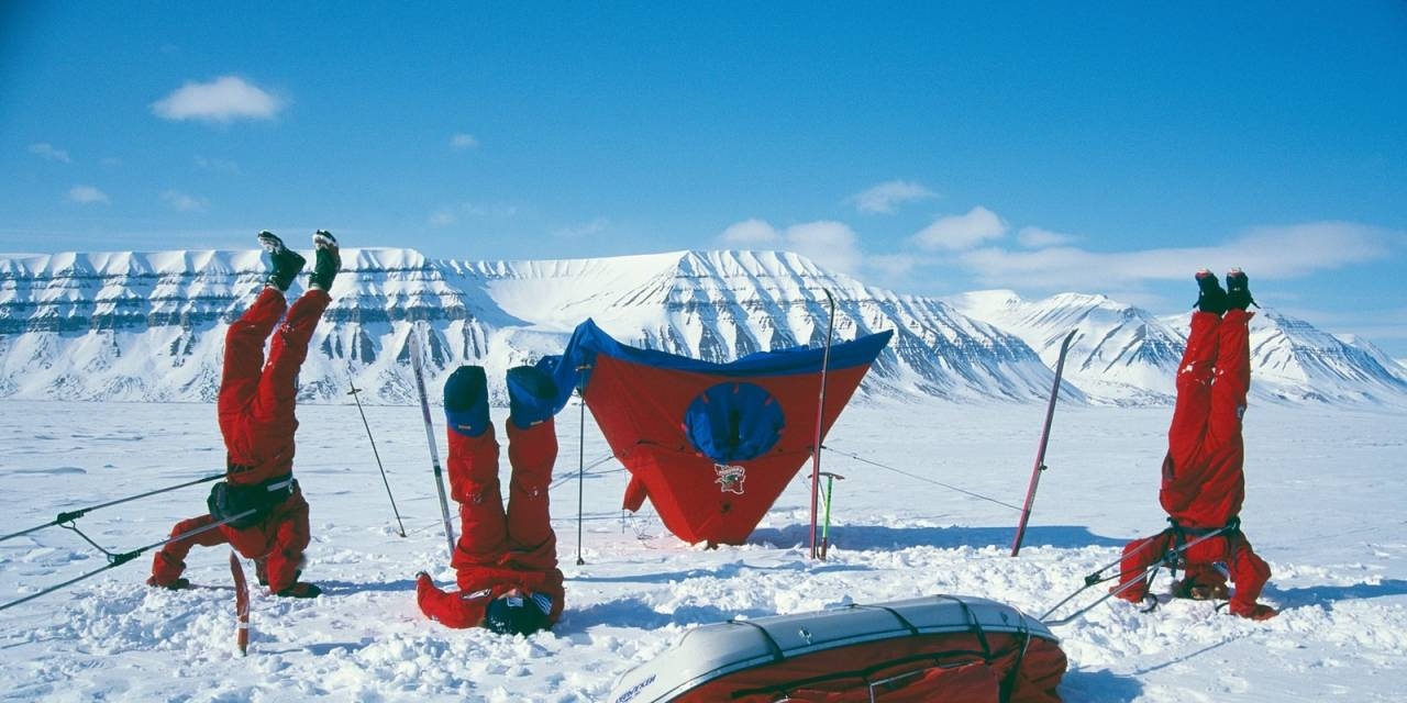 norrøna telt og soveposer