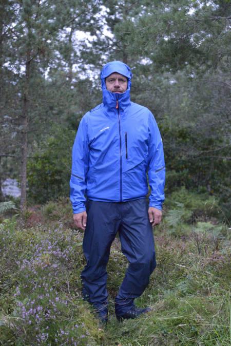 mammut norwand light jakke og bukse regntøy