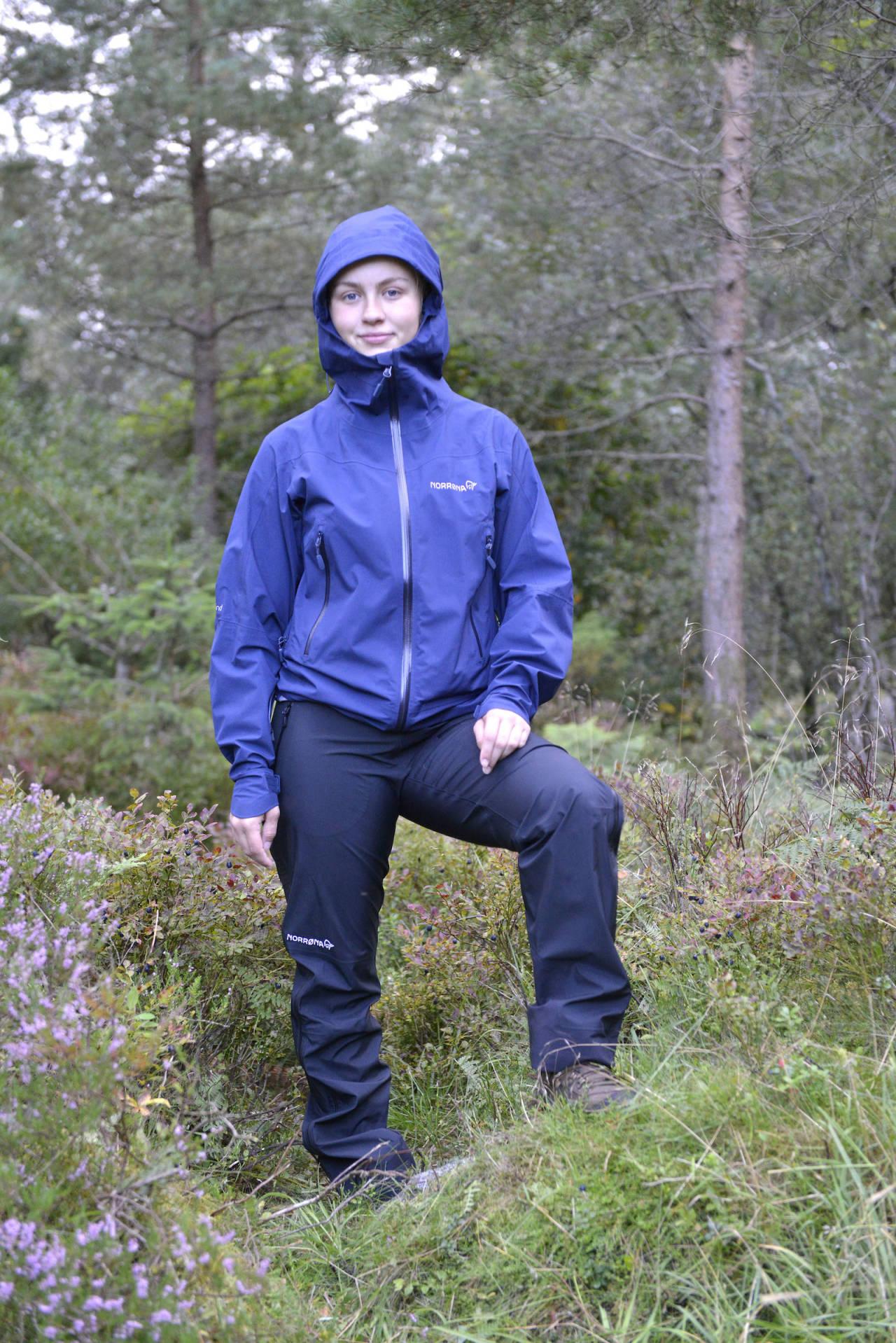 norrøna falketind regnjakke og regnbukse høst