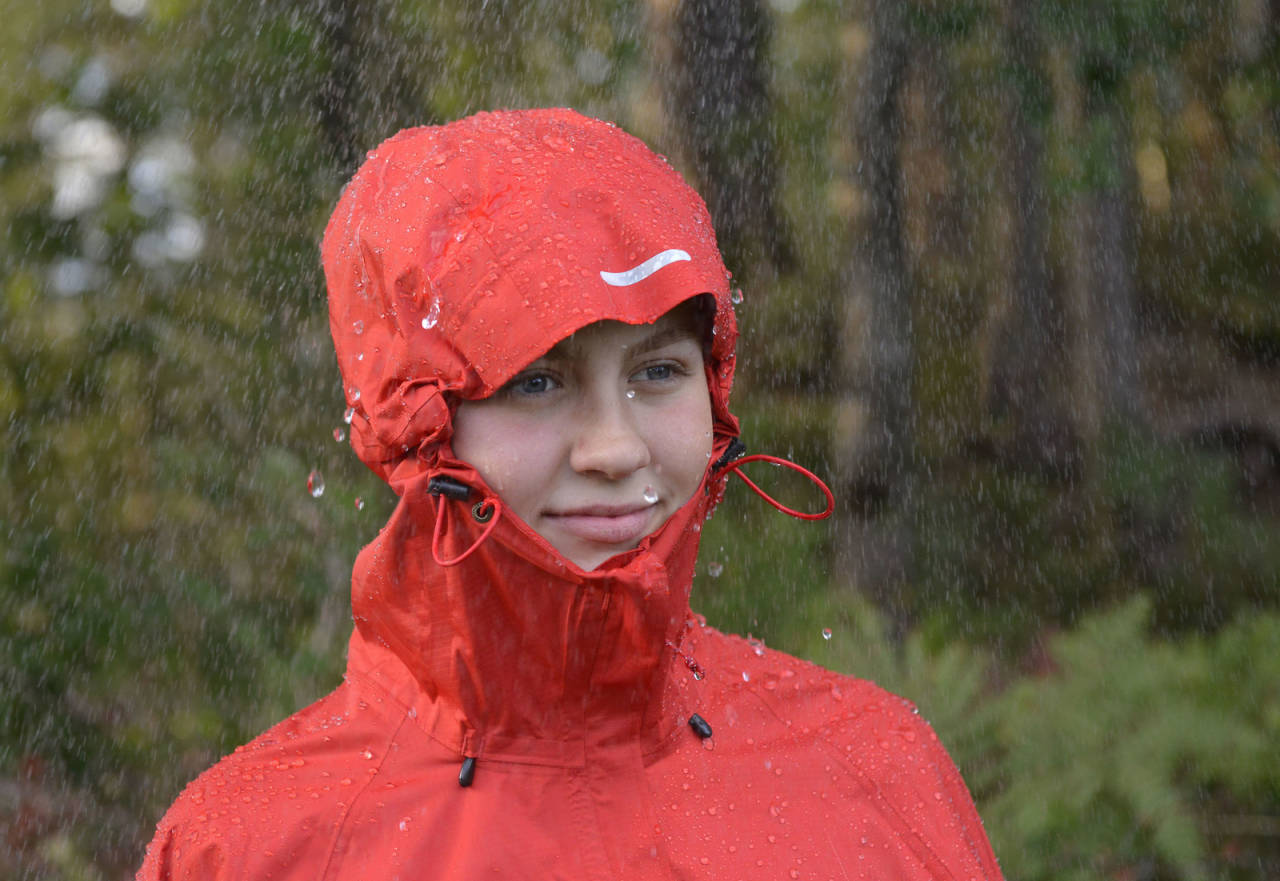 test av regntøy - jakke og bukse