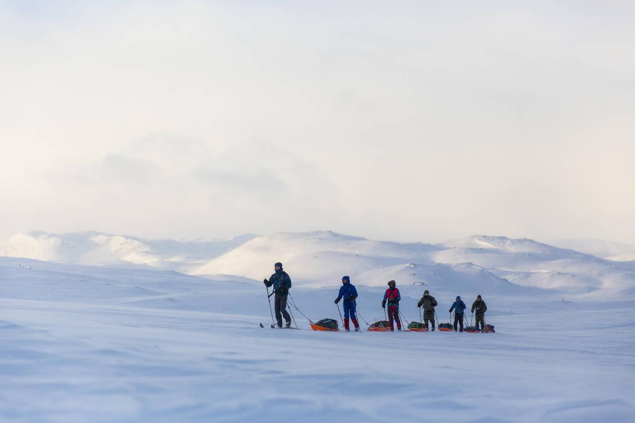 VALG AV FJELLSKI: Med fjellski åpner mulighetene seg i vinterfjellet, men det er mange ulike typer ski å velge mellom. UTE har laget oversikten for å gjøre valget litt enklere for deg. Foto: Marte Stensland Jørgensen