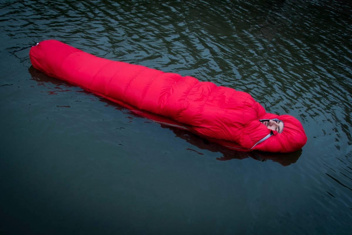 hydrofobisk dun