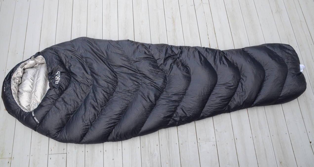 test av rab mythic ultra sovepose