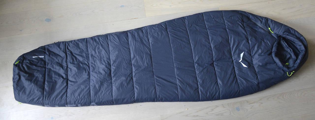 Test av Salewa Rozes Warm sovepose