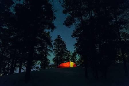 sove ute uteovernatting foto: live andrea sulheim