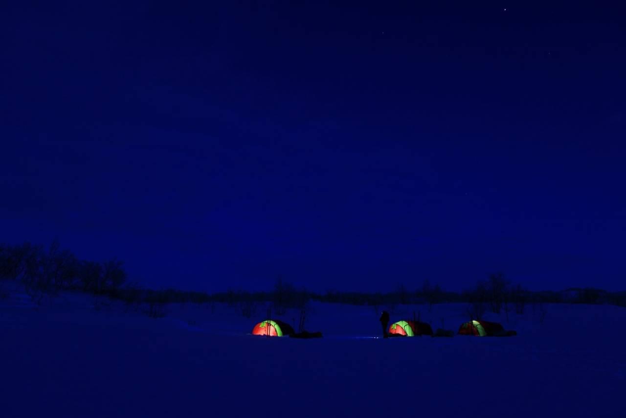 vintercamp telttips