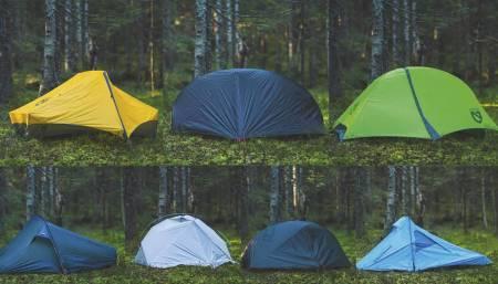 test av telt for 1 person