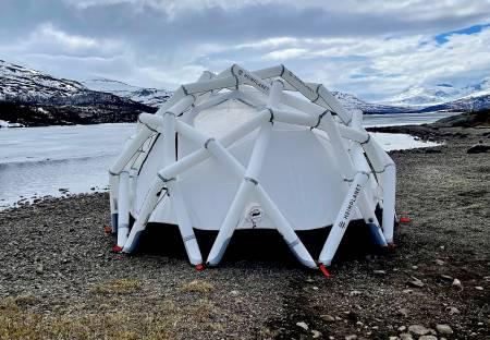 heimplanet mavericks oppblåsbart telt