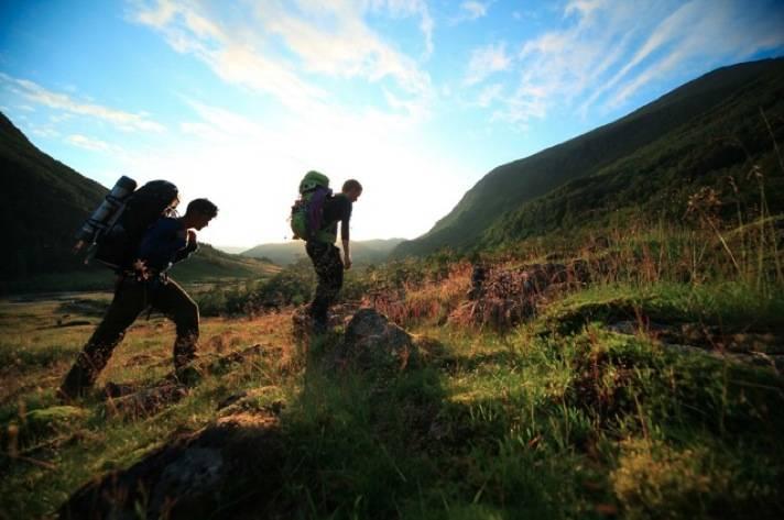 LETT SKODD: Sommertur til Bjørndalstraversen. Foto: Matti Bernitz
