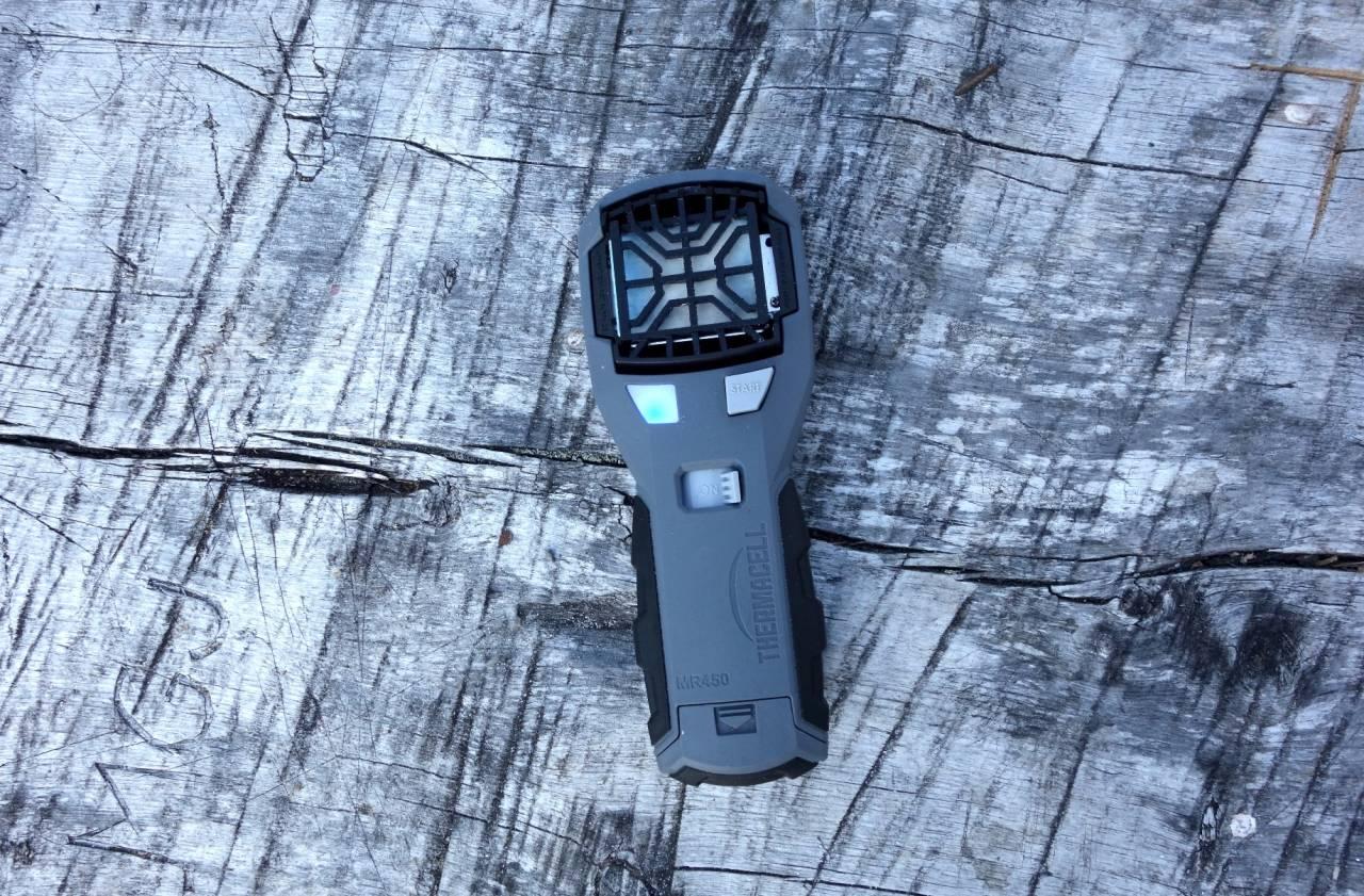 test av Thermacell MR450 myggjager og campinglykt