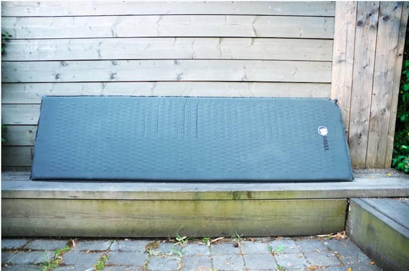 PHOXX Self-inflating mat. Foto: Sandra Lappegard Wangberg