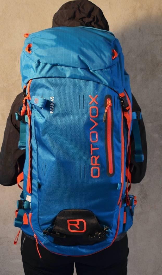 Vi kåret Ortovox Alpine Peak 45 til testvinner i kategorien sekker for lange toppturer.