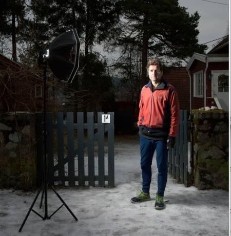 langrenn skihistoriker Thor Gotaas  Line Hårklau