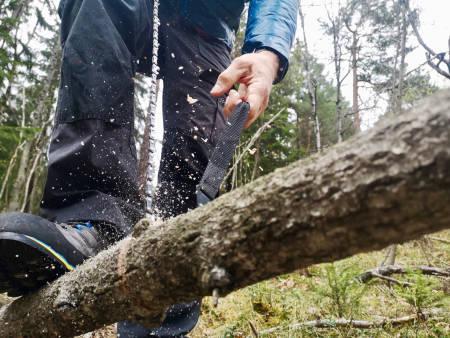 Nordic Pocket Saw tursag test