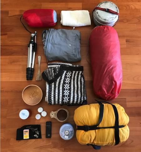pakkeliste for fjelltur