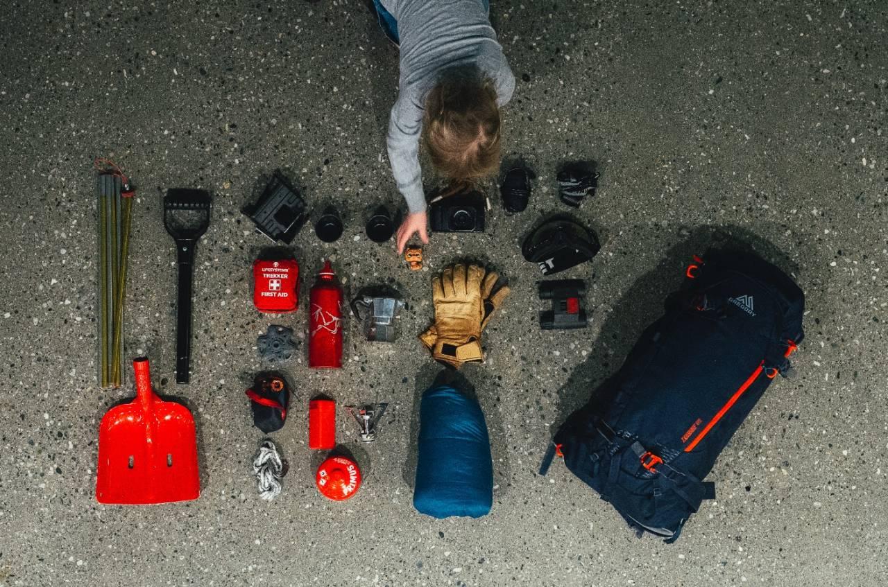 PAKKLISTE: For hverdagslige turer kan du pakke litt annerledes. Foto: Sjur Melsås