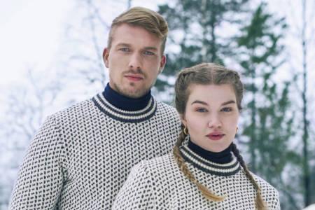 Norlender Astrid Tveiten islender genser hordaland ull utemagasinet