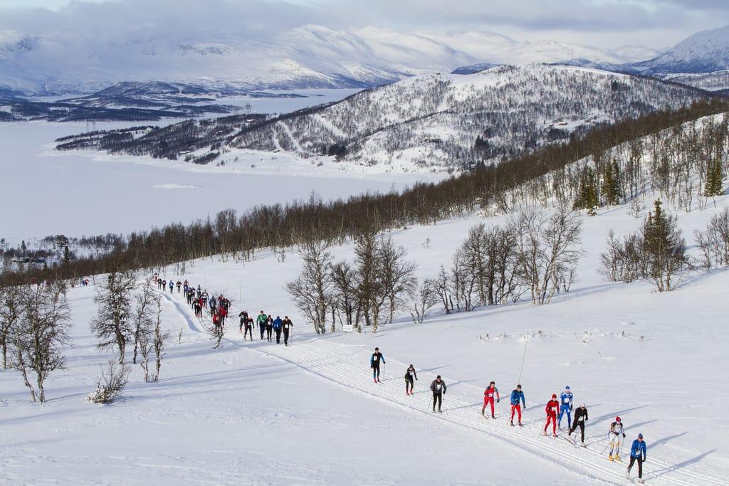 Helterennet i Telemark. Foto: Guro Lien