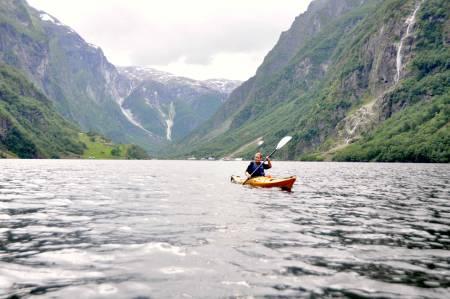 Verdensarvområdet Nærøyfjorden er tettpakket av natur og kultur. Foto: Sandra Lappegard