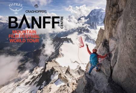 BANFF PÅ VERDENSTURNÈ: Banff Film Tour gjester 45 land, utenfor USA og Canada.